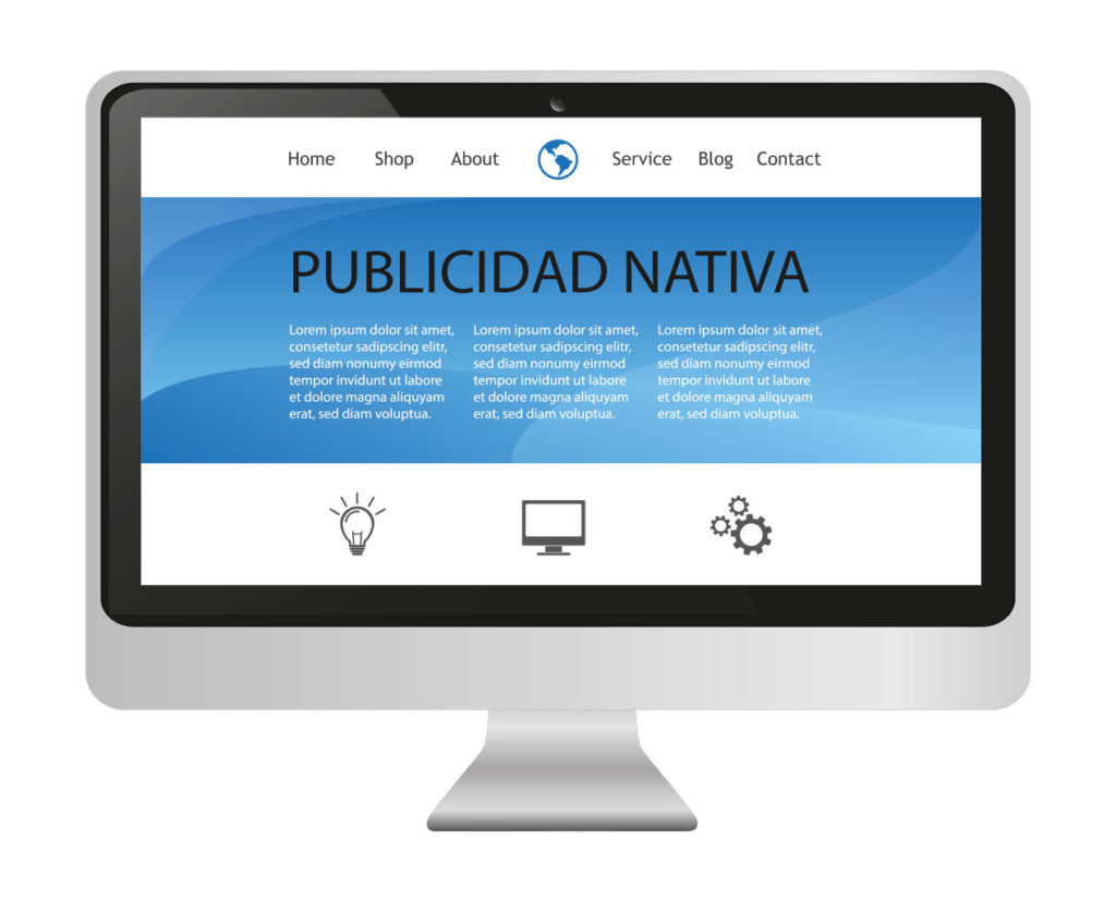 publicidad nativa o publicidad de contenidos