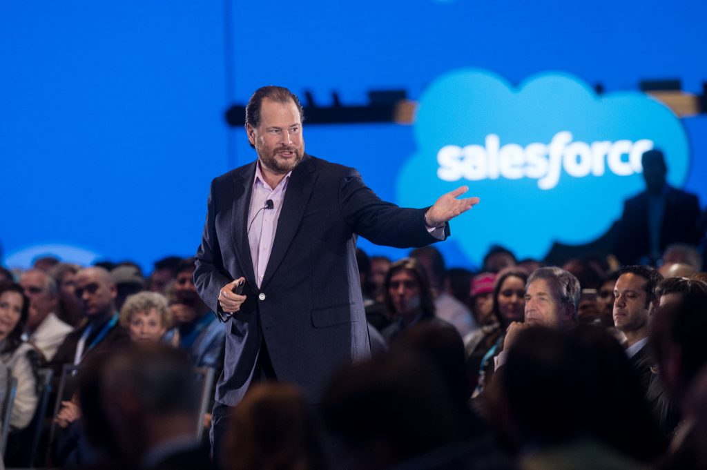 CEO Salesforce en dreamforce 2017