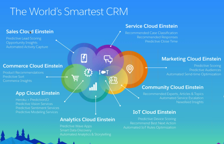 einstein-crm-products