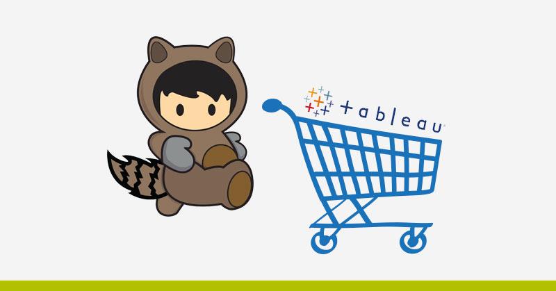 Salesforce compra Tableau