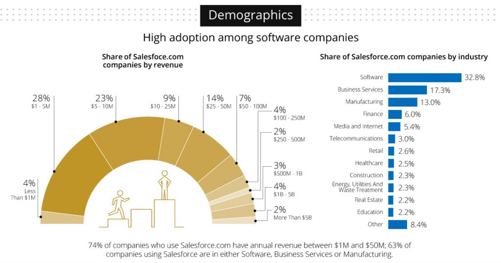 Salesforce demographics