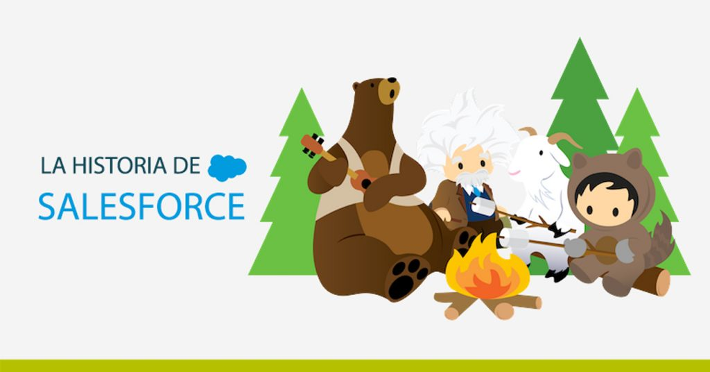 La historia de Salesforce