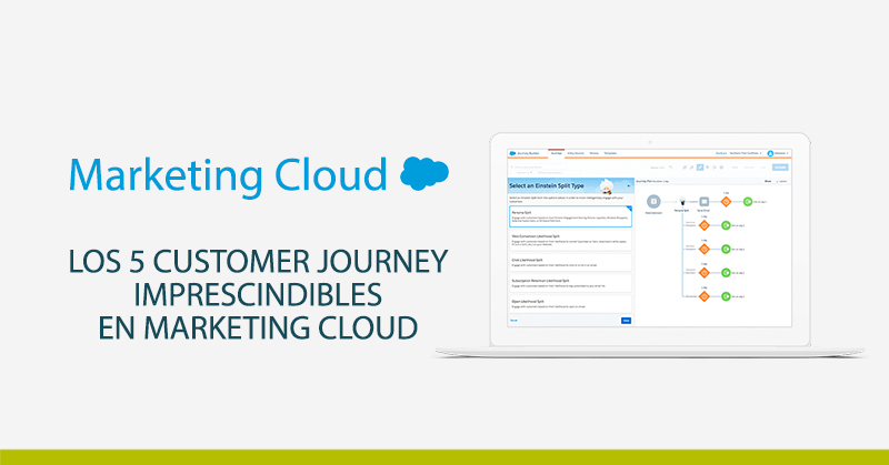 5 customer journey marketing cloud
