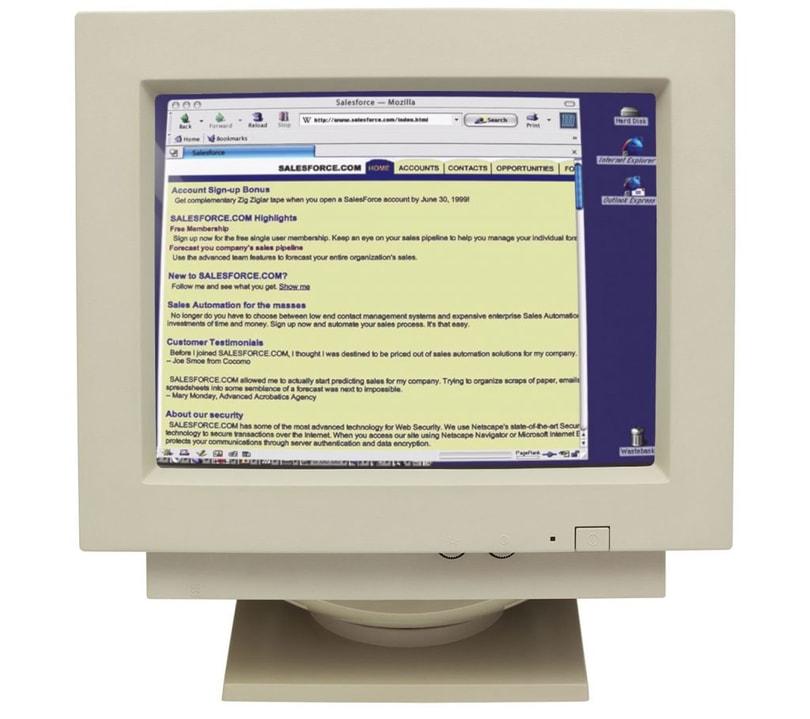 salesforce crm pantalla 1999