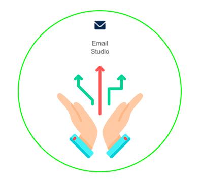 ventajas email studio