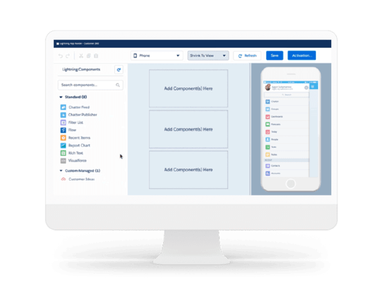 app builder salesforce partners