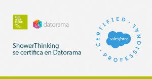 ShowerThinking se certifica en Datorama