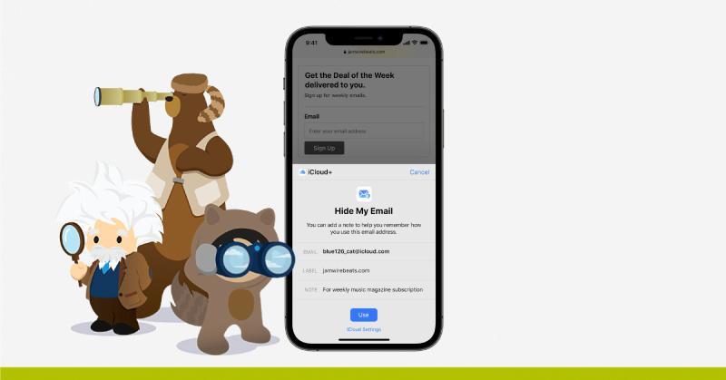 Ocultar dirección ip Mail Privacy Protection