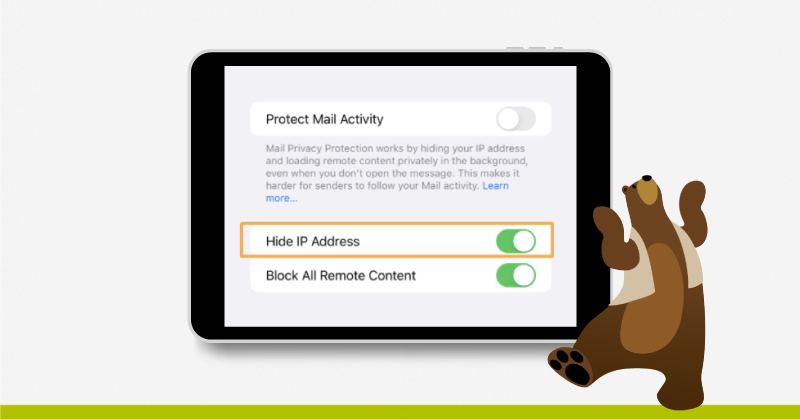 proteger actividad email Mail Privacy Protection